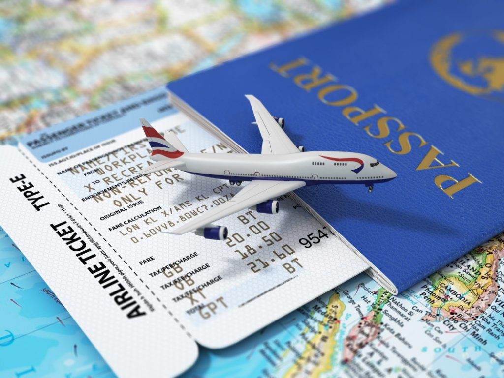 Réserver vos billets d'avion